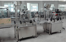 wine capping machine , automatic aluminum screwed cap sealing machine
