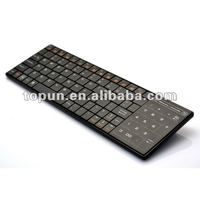 Unique CE Rohs proposal 2 in 1(mouse Touchpad & Numerical Keypad) Bluetooth keyboard for ipad,iphone&PC TP-SK027BT