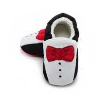 warm Baby Moccasins Shoes with bow tie Baby girls boys Shoes Newborn first walker Infant baby boots