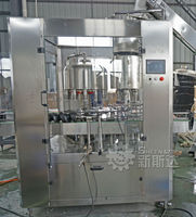 Glass Bottle Hot Juice Packing Machine