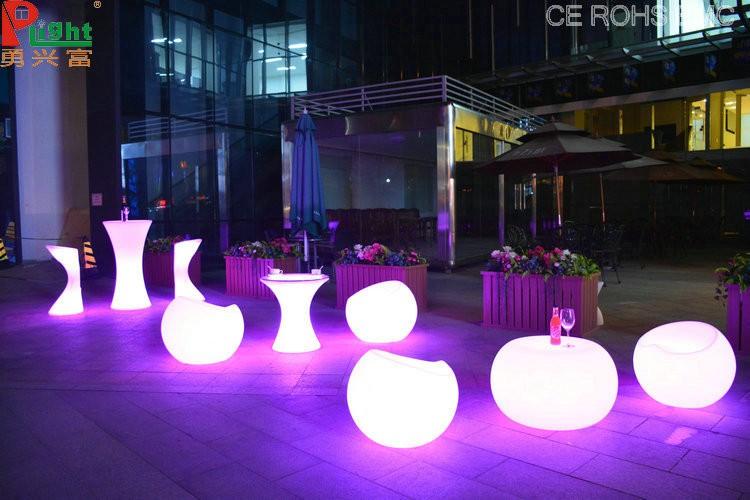 Nightclub Used Hookah Lounge Furniture Modern Luxury Glowing Bar Table