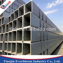 pre-galvanized square steel tube/2 inch square steel tubing/thin wall steel square tubing price