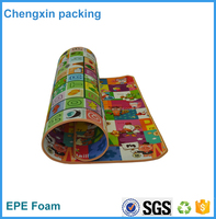 soft padded baby play floor mat/baby cushioned play mat care play mat music carpet