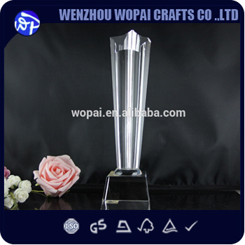 luxury 2015 new arrive crystal base crystal award crystal plaque souvenir