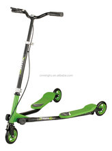 most popular folding adult kick scooter/adult swing scooter with three wheels