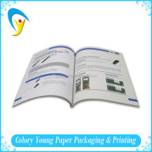 Promotional A4 Paperback Softcover Book Printed, Full Color Softcover Book Printing