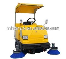 floor sweeper with water spray, industrial road sweeper/dust electronic cleaner/broom machine