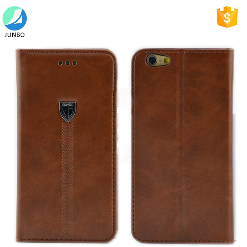 Top quality New Business wallet stand case PU Leather for iphone 7 4.7inch factory price for men