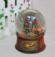 polystone/resin/polyresin snow ball promotional gifts