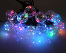 copper wire led string globe string light for Christmas decoration
