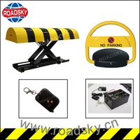 High Quality Remote Control Iron Automatic Car Parking Lock