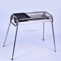 China supplier high quality custom shape bbq,rotary charcoal bbq grill