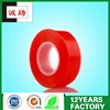 160um High Adhesion Thin PET Doubled-Sided Tape with Red Liner