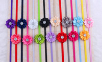 Kids Hair Accessories,Many Angles sunflower baby flower headband,Baby photography props