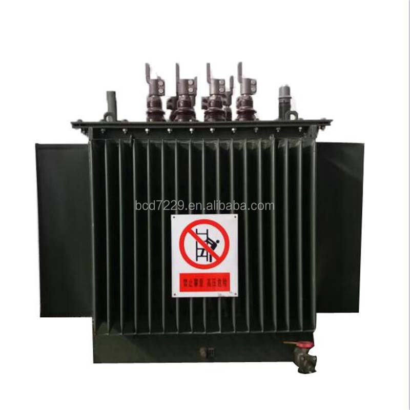 Hot chinese products S11 Oil immersed transformer 20kv 400v 500kVA with china supplier
