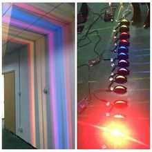 new design 360 degree DMX 512 control led dimmable window light