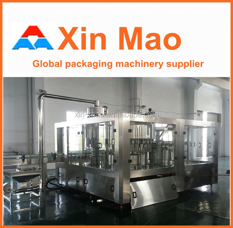 monobloc 200ml mineral water glass making line 3-in-1 automatic price of mineral water plant