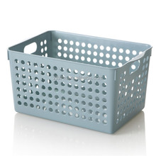 Wholesale Plastic Laundry Small Organizers Storage Baskets storage Crates