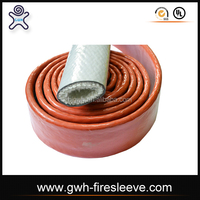 fire sleeve textile braided synthetic rubber hose in cost price