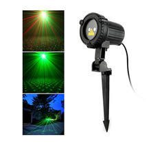 Popular Christmas Outdoor Party Decoration Waterproof Projector Festival Landscape Laser Light