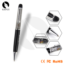 SHIBELL aluminum material customized float liquid pen with laser and led light
