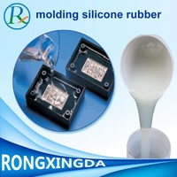 Two Component High Transparency Electronic Potting Silicone rubber For Led Insulation
