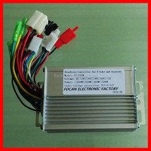 High quality 350W 24V/36V/48V Brushless motor controller for Electric bike bicycle & scooter