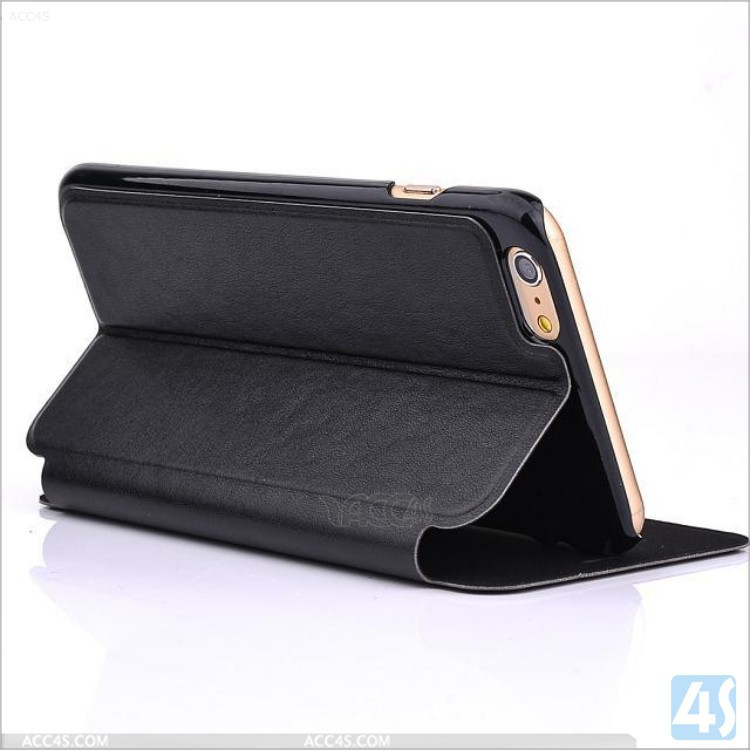 China Supplier Leather Folio Case for iPhone 6 Plus P-APPIPN65PUCA081