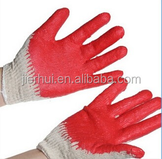 EN388 high quality nitrile coated safty work gloves