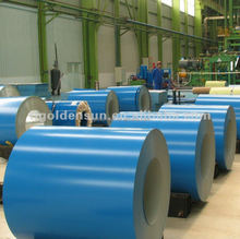 Trade Assurance PPGI coil color coated steel coil/pre-painted steel coil RAL 8091 from China