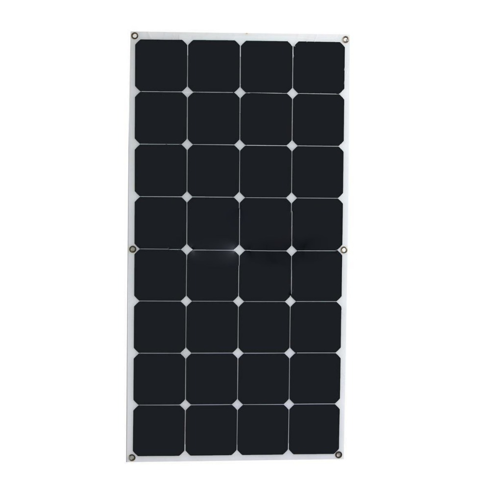 Solar Street Lights 100watt 18v flexible solar panel thin photovoltaic panel price