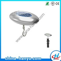 New design LCD Digital Hanging Fishing Weighing Hook Mini Luggage Scale