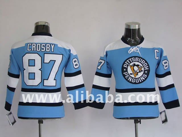 Wholesale KID Pittaburgh Penguins jerseys 87 Crosby hockey jerseys Winter Classic