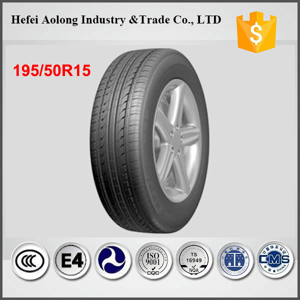 China well-known brand tyres, passenger car tire 195/50R15