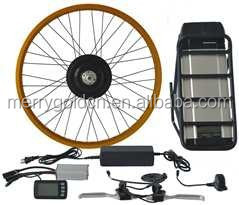 wholesale 1500W electric motorcycle parts Brushless hub motor conversion kits