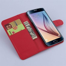For Samsung Galaxy S6 Case, Book Style Flip Leather Case Cover for Samsung Galaxy S6