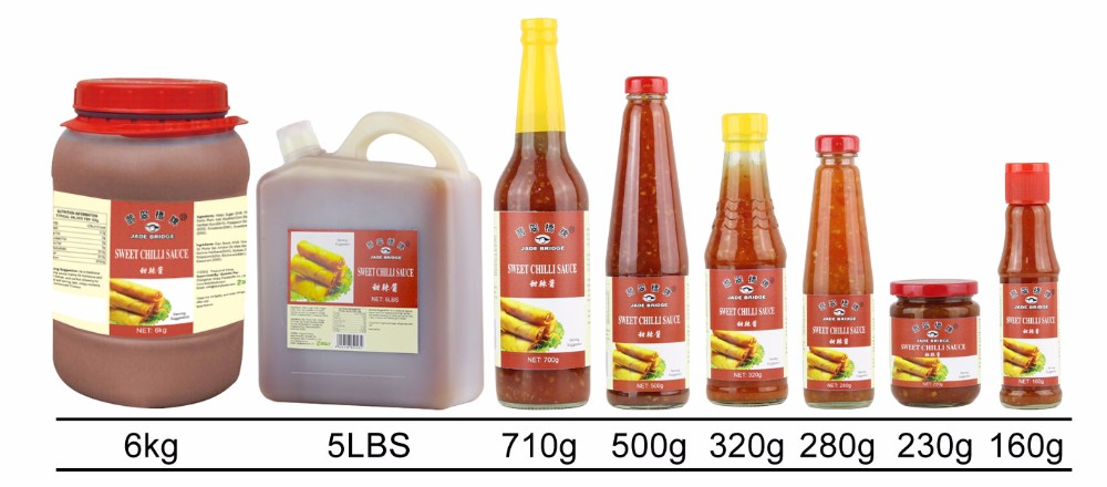 Delicious halal hot sweet chili sauce jar bottle 230g