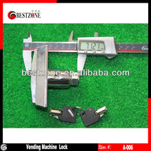 Vending machine locks, snack vending machine T handle & lock with 2 keys