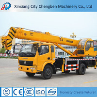 Hydraulic Winch Used Truck Crane of Dongfeng 10 Ton Truck