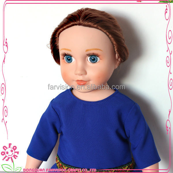 High quality jeans 18 inch doll skirts,custom doll skirt for American girl dolls