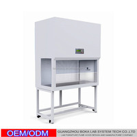 Bio safety vertical laminar air flow cabinet clean benches