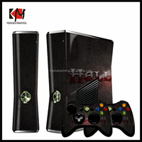 Top quality manufacture skin sticker for xbox360e