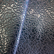 2017 Embossed Woven Leather Fabric for Shoes &Bags