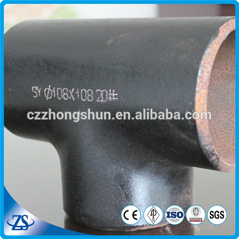 carton steel tee with structural pipeline