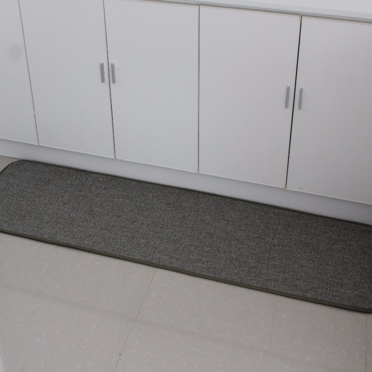 heat-resistant anti fatigue memory foam filling kitchen mat