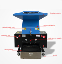 Plastic Shredder Grinder Crusher Machine/PP/PE Film Waste Recycling Plastic