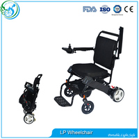 Aluminum Lightweight Folding Power Electric Wheelchair