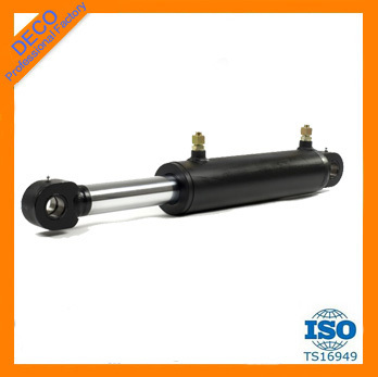 Steel body material customized order single acting/double acting high quality telescopic hydraulic cylinder