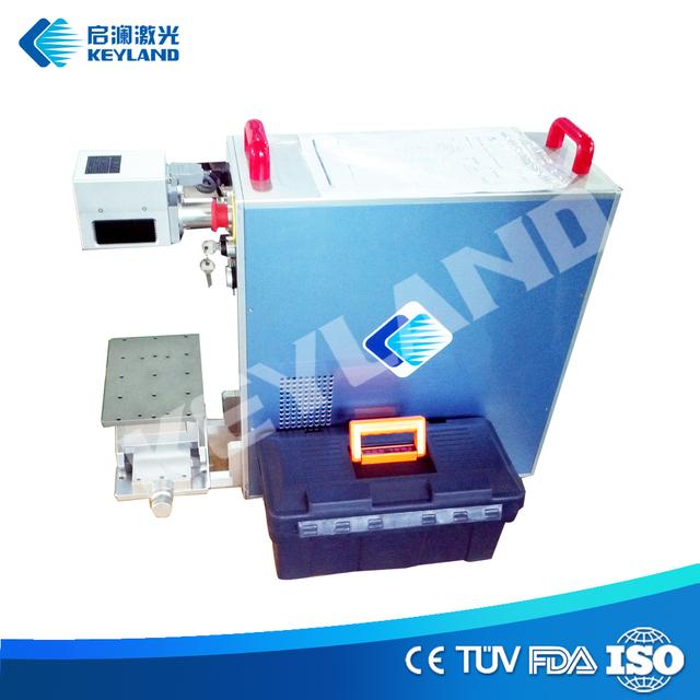 Portable Optical Fiber Laser Machine 10w 20w 30w 50w Engraving Etching Marking Jewelery Metals Plastic Aluminum