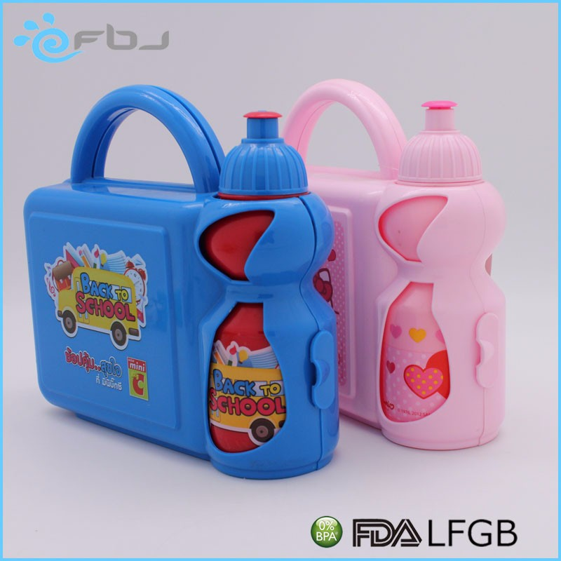 ~ Houseware Plastic Bento foldable silicone lunch box with Lock China Manufacture
